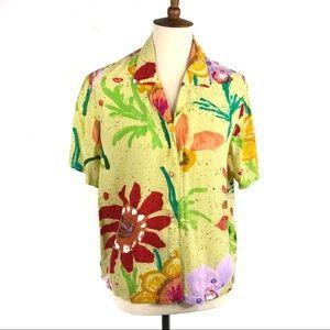 Jams World Chloe Short Sleeve Hawaiian Shirt